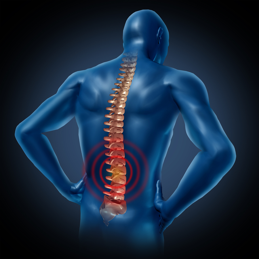 Workplace back injury and pain