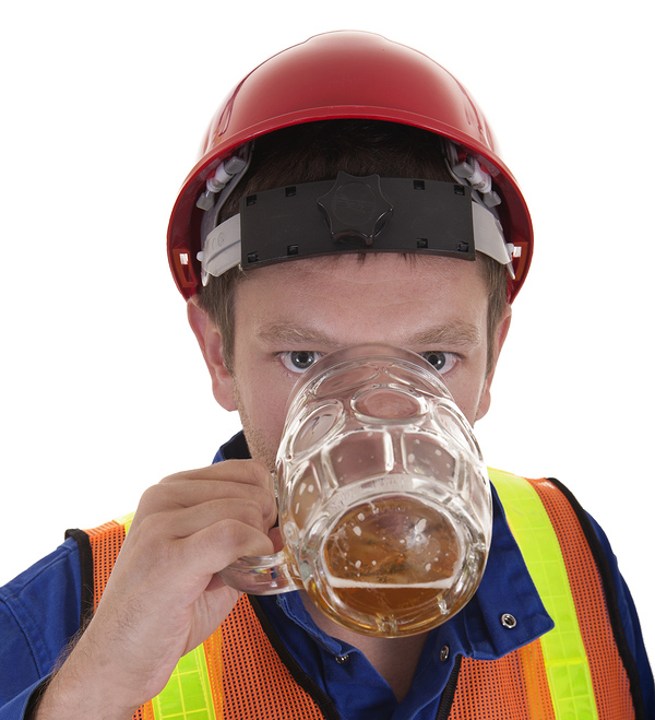 alcohol use in construction industry