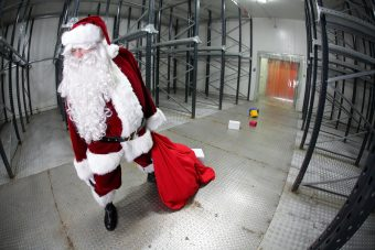 Santa has the most dangerous job in the world
