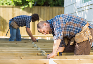 Safety processes and PPE for carpenters