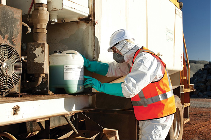 Safety And Ppe When Working With Chemicals