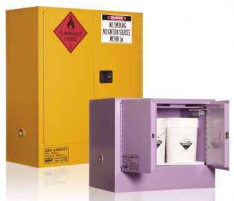 Guide to dangerous goods storage cabinets