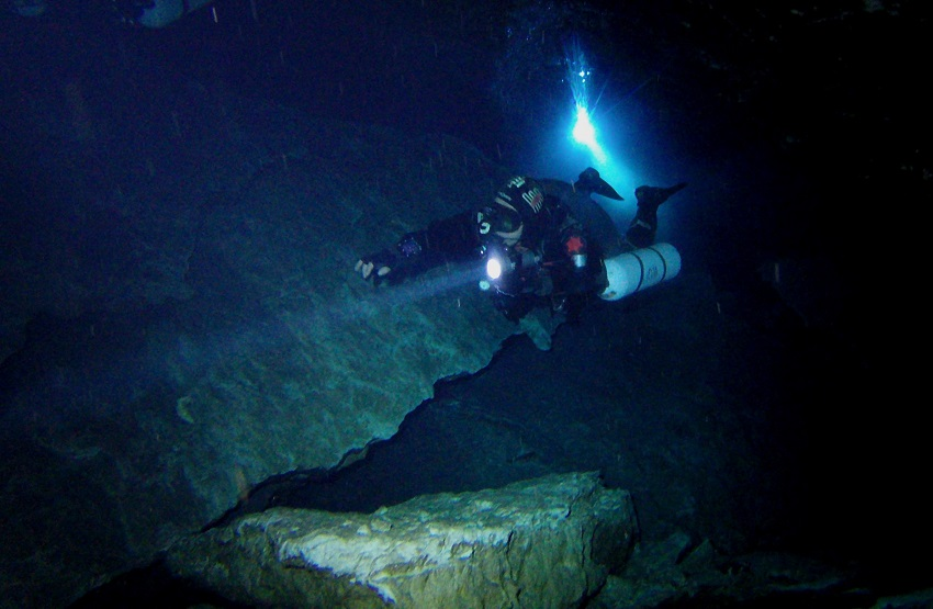 Cave Diving Risk