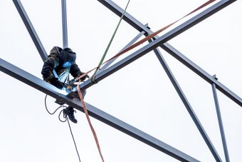 Welding at height? A LINQ Hot Works Harness might save your life.