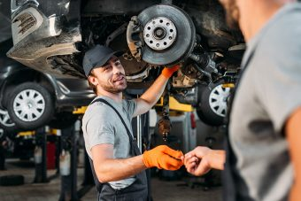 Safety guide for automotive mechanic workshops
