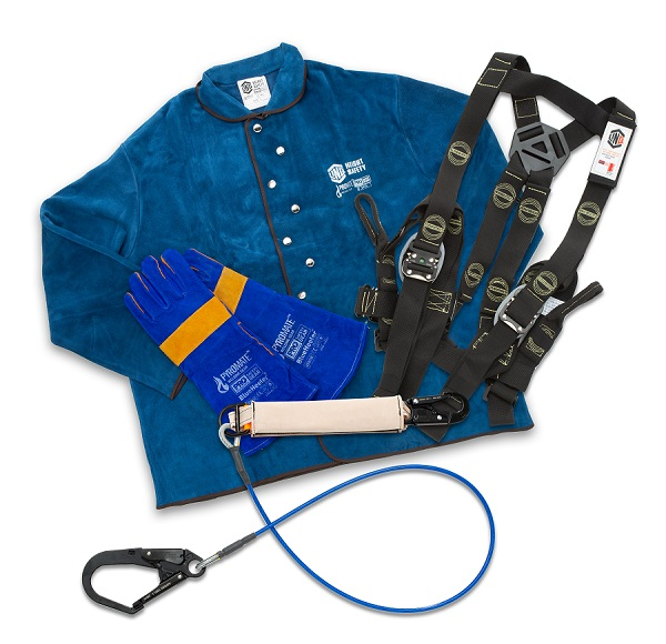 welding at heights jacket kit