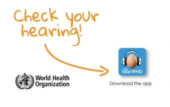 hearWHO, the new World Health Organisation hearing test app
