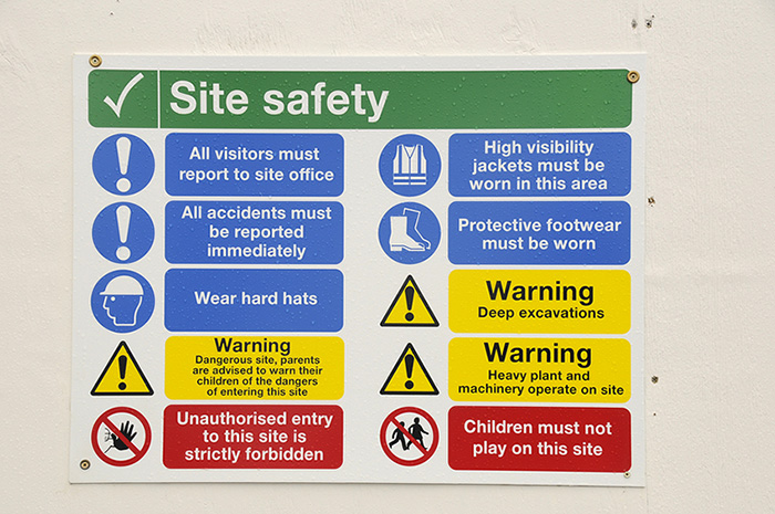 Safety Signs Colour Markings OHS